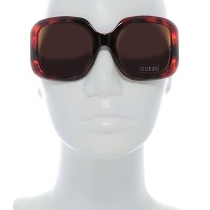 Guess Oversized Sunglasses, Black
